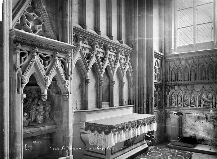 Cathédrale Notre-Dame Vue intérieure d'une chapelle, côté sud, Mieusement, Médéric (photographe),