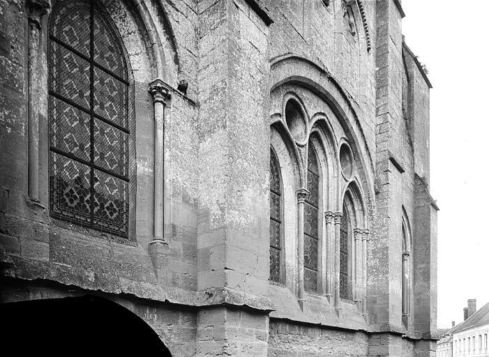 Eglise Saint-Lucien Façade est : Fenêtres, Durand, Eugène (photographe),