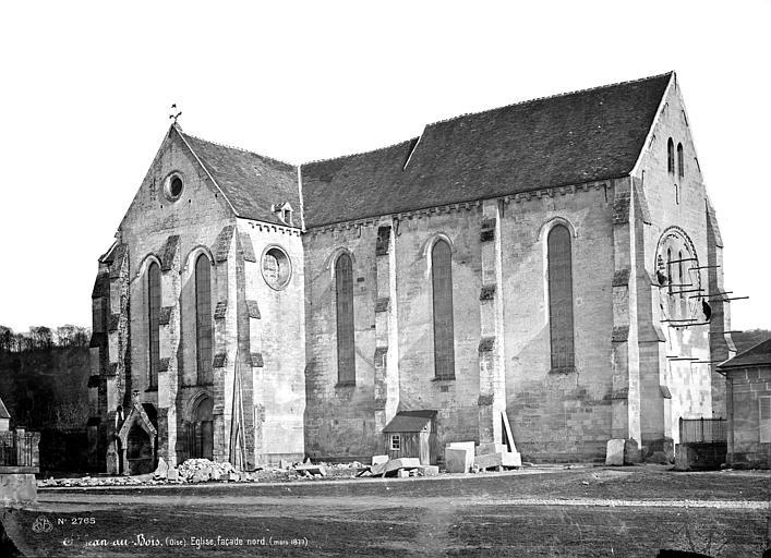 Abbaye (ancienne) Eglise : ensemble nord-ouest, Mieusement, Médéric (photographe),