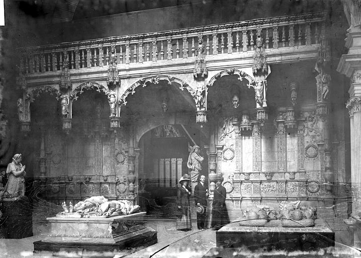 Cathédrale Moulage du jubé de la cathédrale, Enlart, Camille (historien), 75 ; Paris 16 ; Palais de Chaillot (Trocadéro) ; Musée de Sculpture comparée, musée des Monuments français