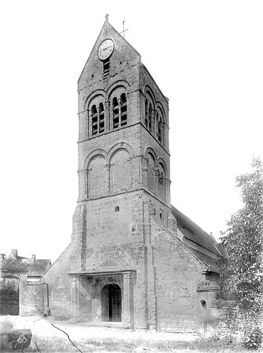 Eglise Ensemble ouest, Durand, Jean-Eugène (photographe),