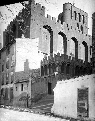 Cathédrale Saint-Etienne (ancienne) Abside, Mieusement, Médéric (photographe),