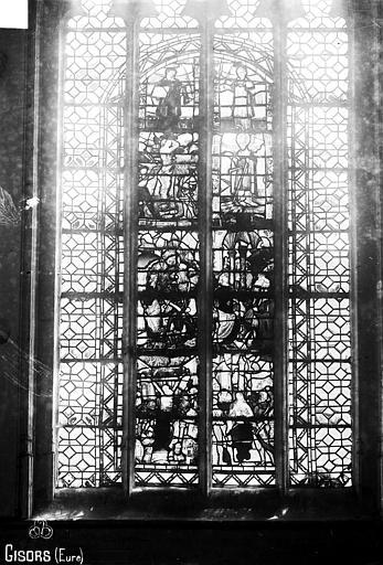 Eglise Saint-Gervais-Saint-Protais Vitrail, Robert, Paul (photographe),