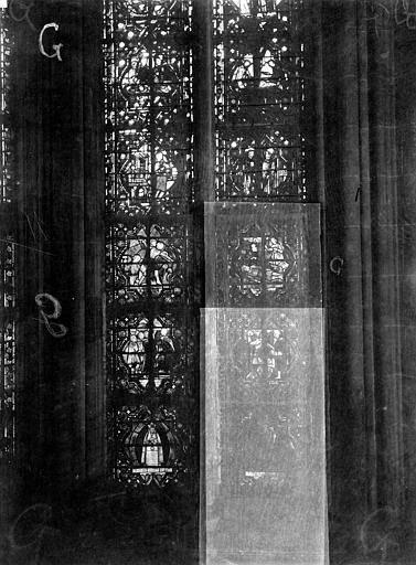 Cathédrale Notre-Dame Chapelles du choeur, vitrail G, Gaudin,