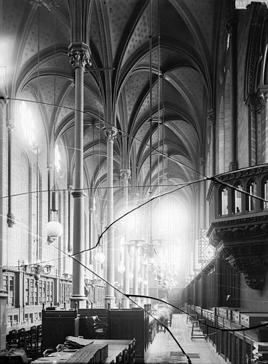 Eglise Saint-Martin-des-Champs Réfectoire, Enlart, Camille (historien),