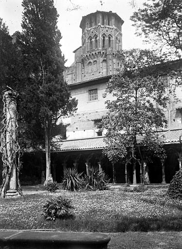 Eglise Saint-Sernin Cloître, Chaine, Henri (architecte),