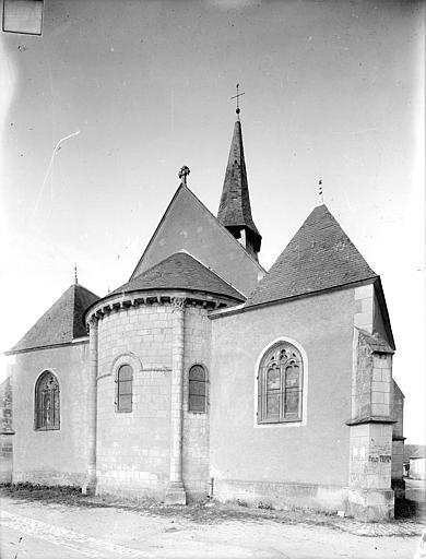 Eglise Saint-Saturnin Ensemble est, Heuzé, Henri (photographe),