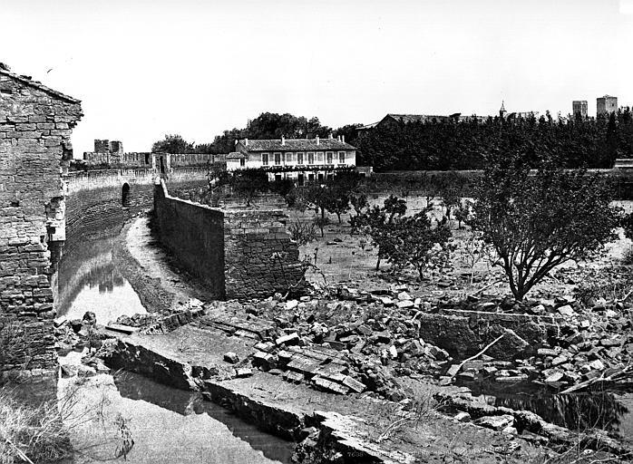 Remparts Vue intra-muros, Baldus, Edouard (photographe),