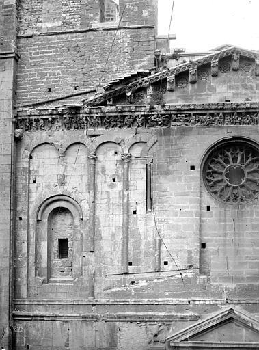 Cathédrale Notre-Dame Façade ouest : partie supérieure gauche, Mieusement, Médéric (photographe),