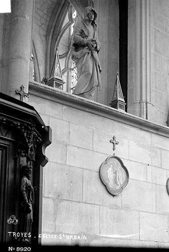 Eglise Saint-Urbain , Robert, Paul (photographe),