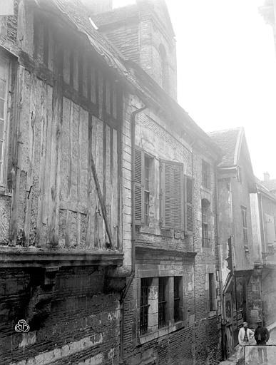 Hôtel de Mauroy Façade, Lancelot, Gustave,