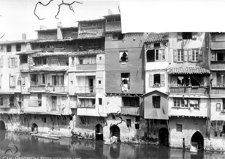 Maison Maisons sur la rivière, Mieusement, Médéric (photographe),