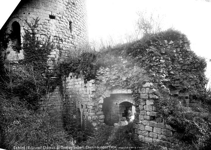 Château du Coudray-Salbart Chemin de tour, Mieusement, Médéric (photographe),