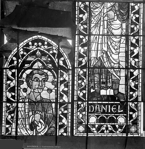 Cathédrale Saint-Etienne Vitrail : Daniel, Leprévost (photographe),