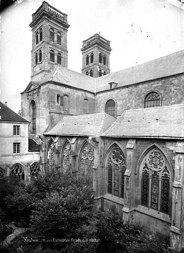 Cathédrale Notre-Dame-de-l'Assomption Façade sud, vers l'ouest, Mieusement, Médéric (photographe),