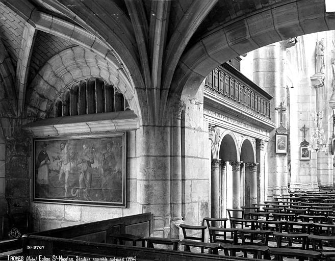 Eglise Saint-Nicolas Saint-Sépulcre, Robert, Paul (photographe),