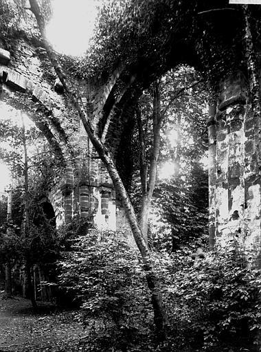 Eglise abbatiale Ruines, Enlart, Camille (historien),