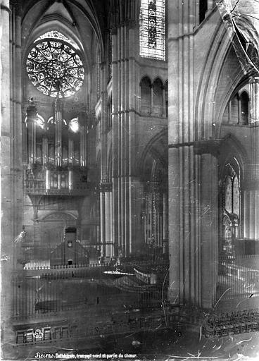 Cathédrale Notre-Dame Vue intérieure du transept nord et du choeur, vers le nord, Mieusement, Médéric (photographe),