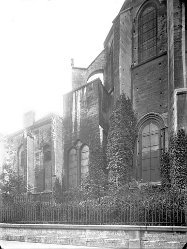 Cathédrale Saint-Vincent (ancienne) Abside, côté nord, Heuzé, Henri (photographe),