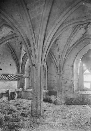 Abbaye du Moncel (ancienne) Chapelle, intérieur, Service photographique,