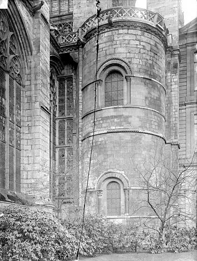 Eglise Saint-Ouen Tour romane à l'est, Durand, Jean-Eugène (photographe),