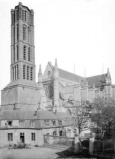Cathédrale Saint-Etienne Clocher et ensemble sud-ouest, Mieusement, Médéric (photographe),