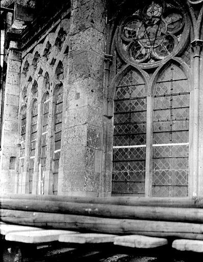 Cathédrale Fenêtre, Chaine, Henri (architecte),