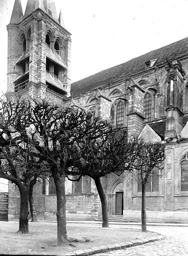Eglise Partie nord, Enlart, Camille (historien),
