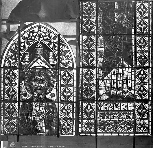 Cathédrale Saint-Etienne Vitrail : saint Philippe, Leprévost (photographe),