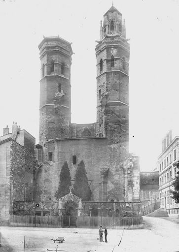 Eglise Saint-Vincent Ensemble est, Durand, Eugène (photographe),