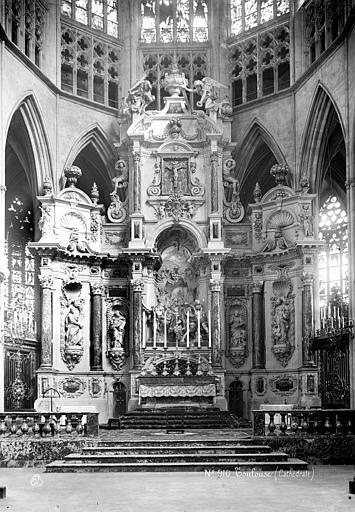 Cathédrale Saint-Etienne Retable, ensemble, Mieusement, Médéric (photographe),