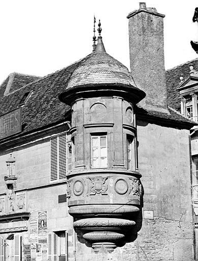 Hôtel des Berbis Echauguette, Delaunay (photographe),