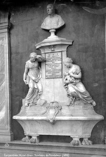 Hôtel-Dieu Tombeau du fondateur, Mieusement, Médéric (photographe),