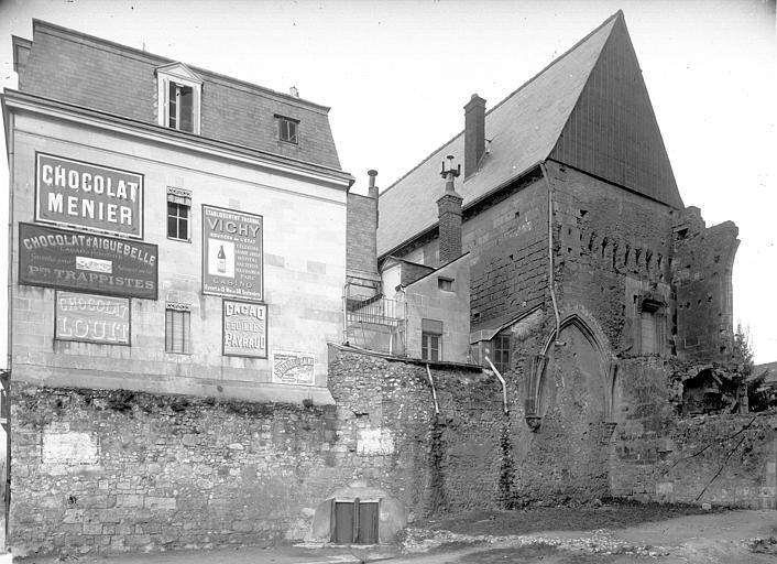 Archevêché (ancien) Façades sur rue, ,