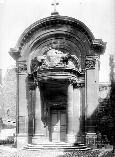 Collège de Beauvais (ancien) Chapelle, Durand, Eugène (photographe),