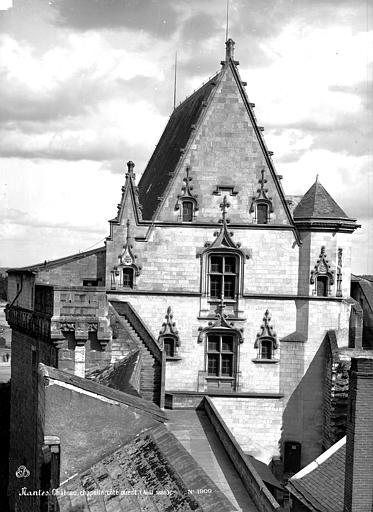 Château des ducs de Bretagne Chapelle, côté ouest, Mieusement, Médéric (photographe),