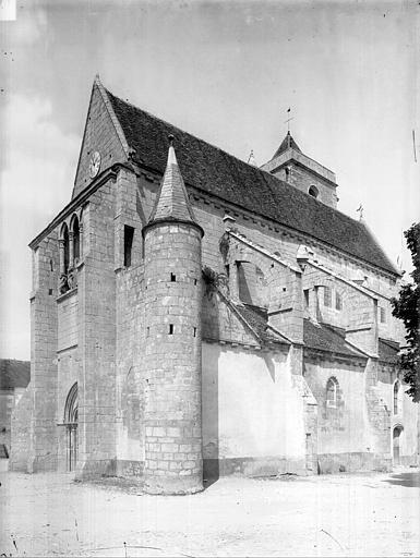 Eglise Angle sud-ouest, Durand, Jean-Eugène (photographe),