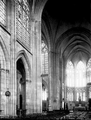Eglise Saint-Urbain Choeur, Enlart, Camille (historien),