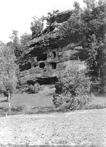 Grottes de Lamouroux Vue extérieure : Observatoire, Mieusement, Médéric (photographe),