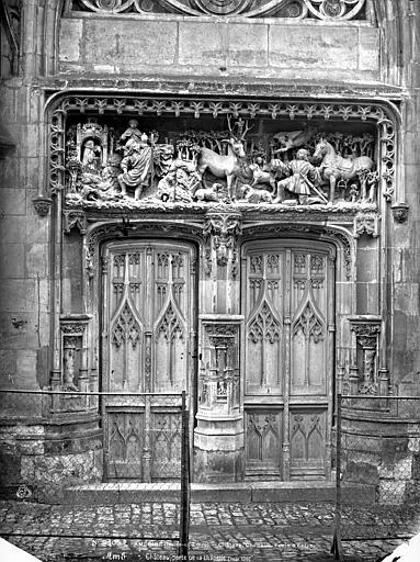 Château Chapelle : portail, Mieusement, Médéric (photographe),