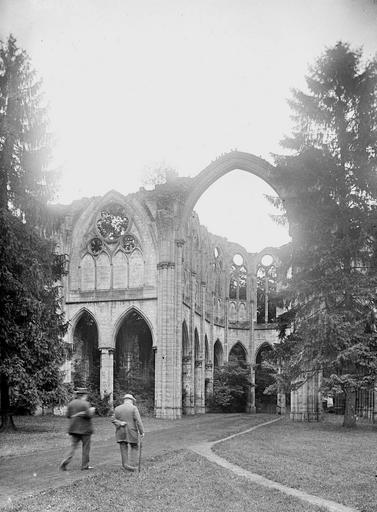 Abbaye (ancienne) Ruines, Heuzé, Y.,
