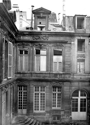Hôtel Lamoignon Aile, partie droite, Durand, Eugène (photographe),