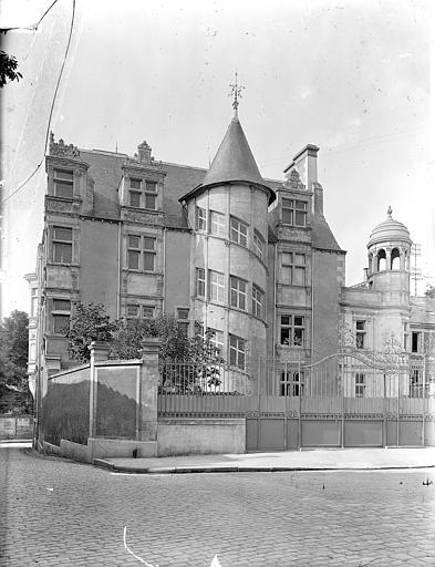 Hôtel Jean Baucé Vue d'ensemble, Gossin (photographe),