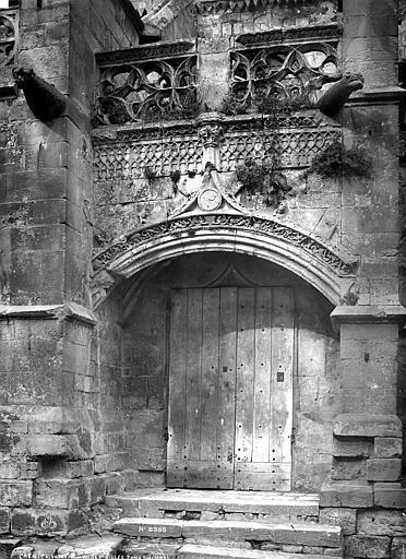Eglise Saint-Gilles (ancienne) Porte sud, Robert, Paul (photographe),