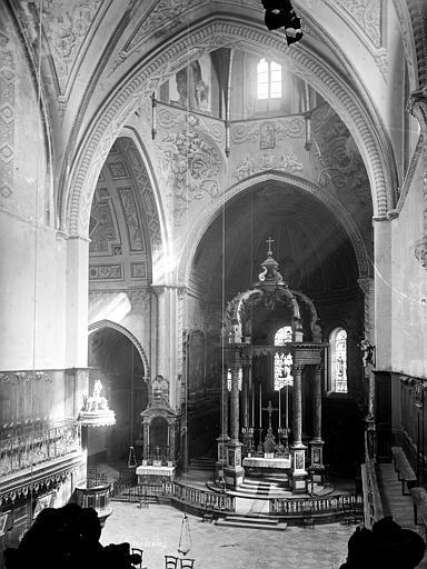 Cathédrale Notre-Dame-de-la-Sède Vue intérieure du choeur, Mieusement, Médéric (photographe),