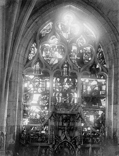 Eglise Saint-Nizier Vitraux, fenêtre D, Lancelot, Gustave,