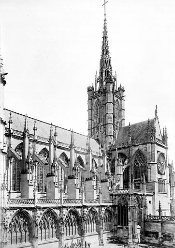 Cathédrale Notre-Dame Façade sud : transept et tour centrale, Mieusement, Médéric (photographe),