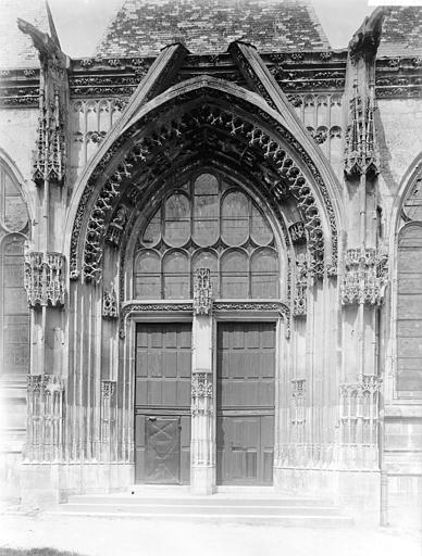 Eglise Portail, Enlart, Camille (historien),