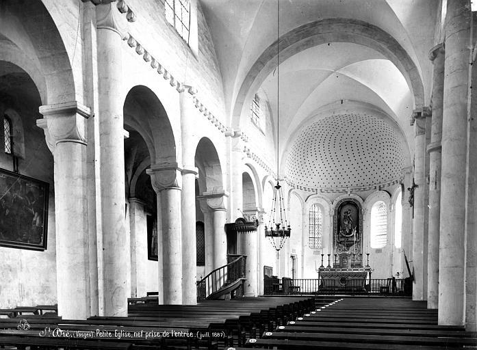 Eglise Notre-Dame de Galilée dite Petite église Vue intérieure de la nef, vers le nord-est, Mieusement, Médéric (photographe),