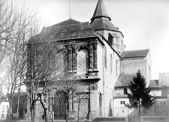 Cathédrale Notre-Dame-de-la-Sède Angle sud-ouest, Mieusement, Médéric (photographe),